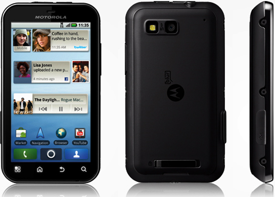 Fiche technique Motorola DEFY / MB525