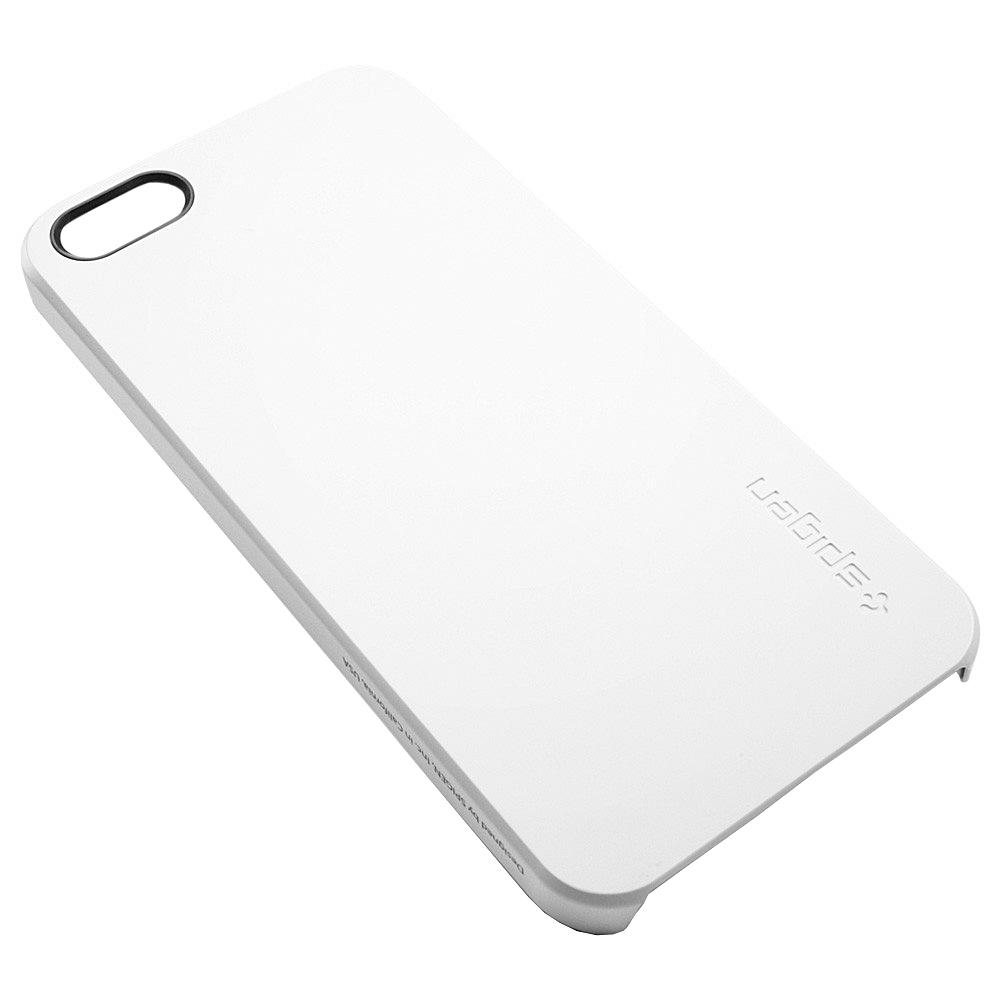fiche technique spigen sgp09505 ultra thin air iphone 5 smooth white avcesar. Black Bedroom Furniture Sets. Home Design Ideas