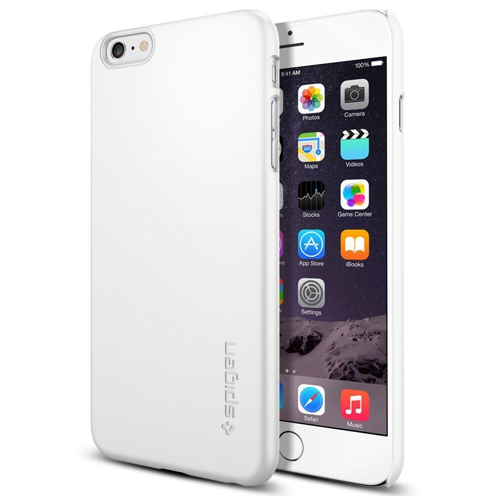 fiche technique spigen sgp sgp11101 thin fit iphone 6 plus shimmery white avcesar. Black Bedroom Furniture Sets. Home Design Ideas