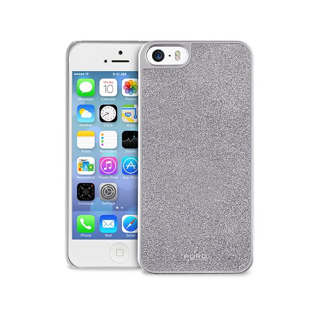 fiche technique puro ipc5glittersil glitter cover iphone 5 silver avcesar. Black Bedroom Furniture Sets. Home Design Ideas