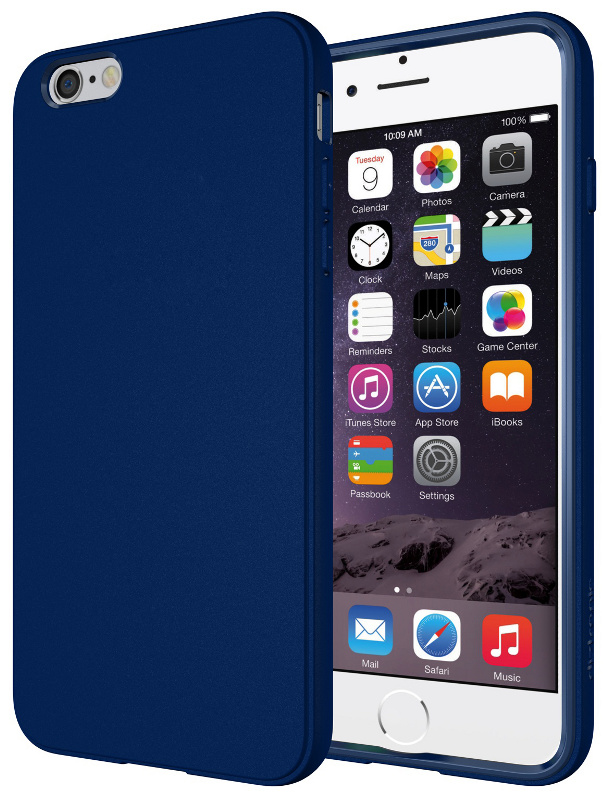 fiche technique diztronic ip6p fm blue flexible tpu iphone 6 plus matte blue avcesar. Black Bedroom Furniture Sets. Home Design Ideas