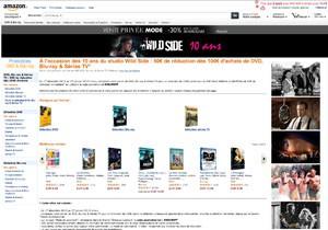 Bons plans Blu-Ray/DVD Wild Side Amazon : 50 € de réduction dès 100 € d'achat