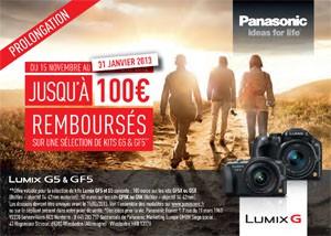 Promo Panasonic APN : offres de remboursement prolongées