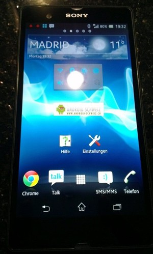 CES 13 > Sony Xperia Z quadcore 1 080p… : dévoilé au CES 2013 ?
