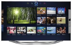CES 13 > Smart TV Samsung 2013 : fonctionnalités smartphone dans un TV