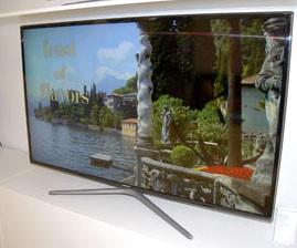 TV LED Samsung F6100 : quatre modèles 3D