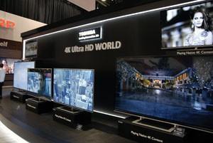 CES 13 > TV LED Toshiba L9300 : 58'' + 65'' + 84''