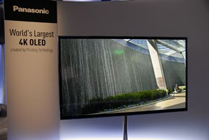 CES 13 > TV Oled 4K Panasonic : la surprise du chef !