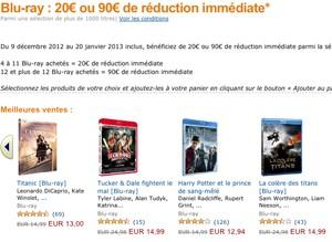 Soldes Amazon Blu-Ray/DVD : le meilleur du net