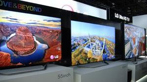 CES 13 > TV LED Ultra HD LG LM970V : mise à jour références