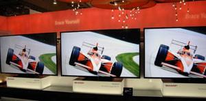 CES 13 > TV LED Sharp CES 2013 : rien de prévu pour laFrance
