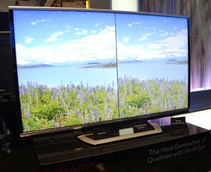 CES 13 > TV LED Sharp 2013 : bribes d'informations…