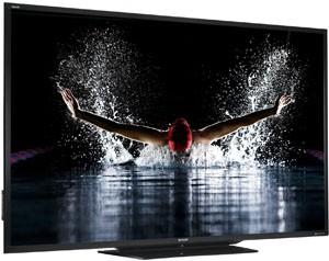 TV LED Sharp LE757 : 1 modèle 90'', 1 série