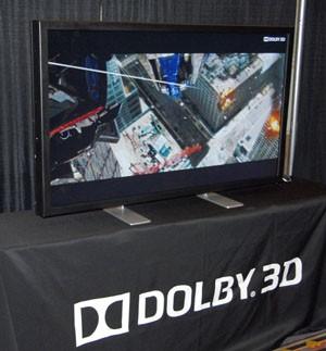 CES 13 > Dolby 3D sans lunettes : d'ici deux ans dans les magasins?