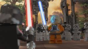 Lego Star Wars : l'empire en vrac en DVD