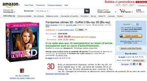 Offre Amazon Blu-Ray 3D : passez au relief au meilleur prix!