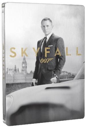 Blu-Ray/DVD Skyfall : visuels et bonus français