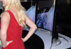 LG Oled courbe : trois tailles d'écran en tout?