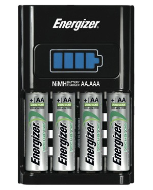 Energizer Chargeur 1H : pile-poil