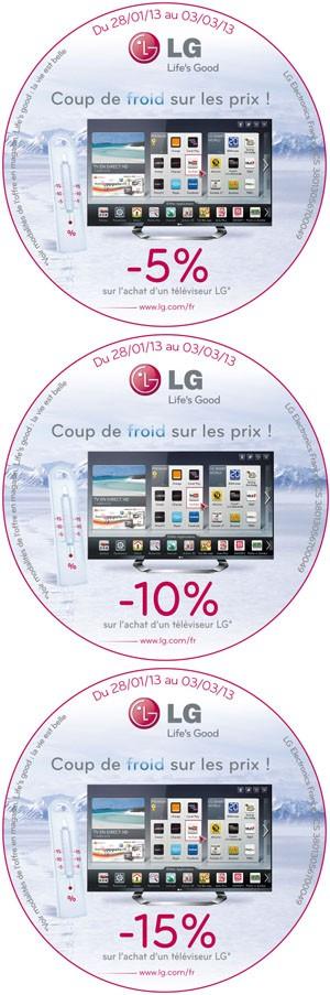 Offre de remboursement LG Smart TV : jusqu'à 15% remboursés