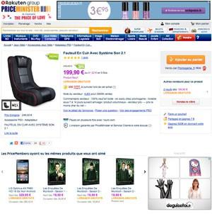 Bons plans Price Minister : du lecteur e-book au fauteuil audio