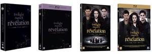 Twilight chapitre 5 révélation - 2e partie : en approche en Blu-Ray/DVD