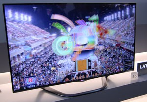 TV LED LG LA740S : quatre références annoncées