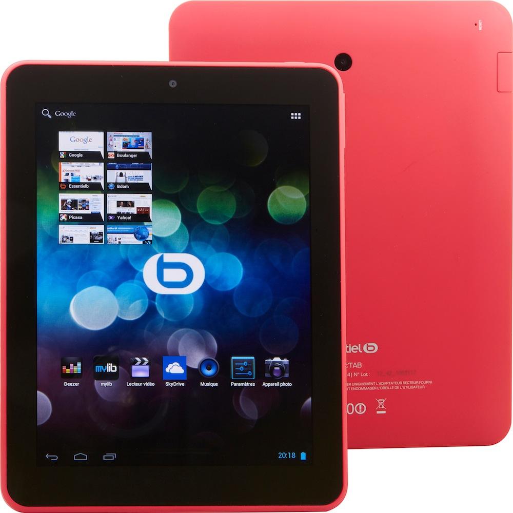smart 39 tab 8002 la tablette android de boulanger. Black Bedroom Furniture Sets. Home Design Ideas