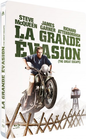 Blu-Ray La grande évasion : happy fifty en HD !