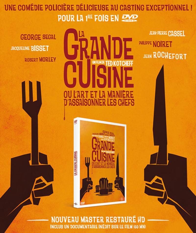 La grande cuisine un dvd d licieux for Documentaire cuisine gastronomique