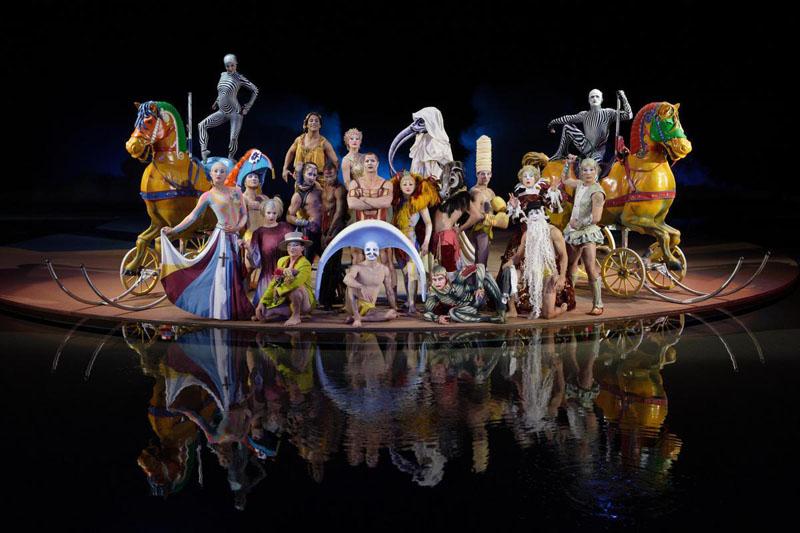 Bellagio O Show >> Cirque du Soleil 3D : partez pour le voyage imaginaire ...