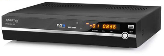 sigmatek dvb 500 hd tuner tnt hd externe. Black Bedroom Furniture Sets. Home Design Ideas