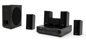 CES 09 > Sharp BD-MPC30 : ensemble Blu-Ray 5.1