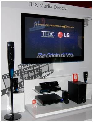 CES 09 > LG PS8000 : plasmas THX