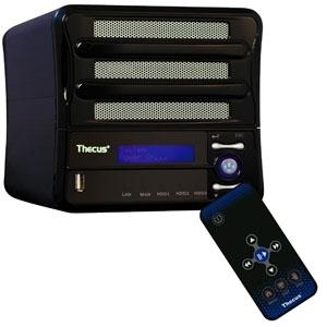 Thecus M3800 : serveur et lecteur multimédia