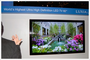 CES 09 > Samsung LED 82'' : exercice de style…