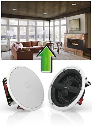 bose virtually invisible 791 enceinte de plafond. Black Bedroom Furniture Sets. Home Design Ideas