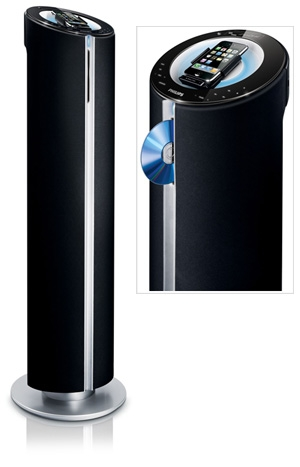 philips dcm580 syst me audio 4 1 dock ipod iphone. Black Bedroom Furniture Sets. Home Design Ideas