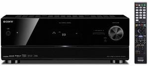 Sony STR-DN1010 : amplificateur 3D Ready quarter