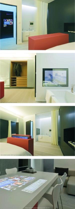 domo une vraie maison intelligente et connect e. Black Bedroom Furniture Sets. Home Design Ideas