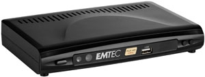 Emtec Movie Cube N150H : lecteur multimédia + tuner TNT HD