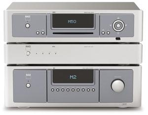 Nad Masters M50 + Nad Masters M52 : à l'heure de la musique dématérialisée