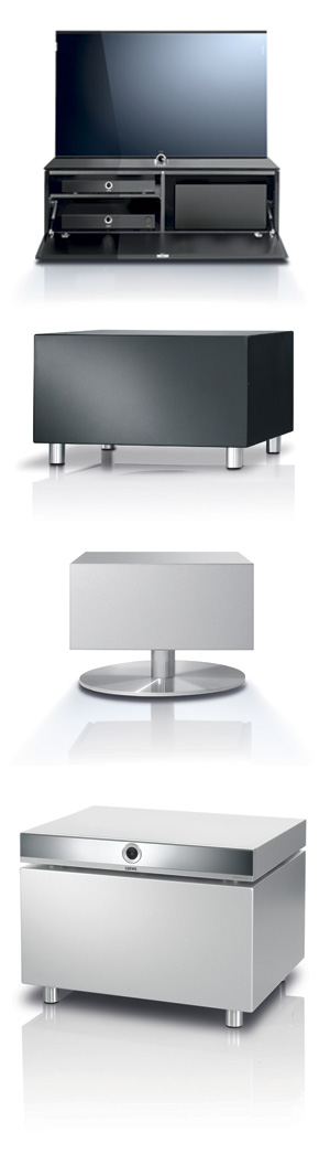 individual sound loewe subwoofer nouveau caisson de graves. Black Bedroom Furniture Sets. Home Design Ideas