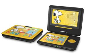 lenco dvp 7 snoopy lecteur dvd portable qui a du chien. Black Bedroom Furniture Sets. Home Design Ideas