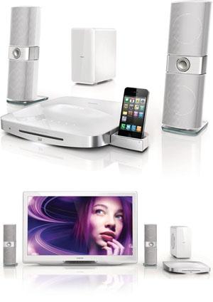 Philips HTS9241 : chaîne Blu-Ray 2.1 3D Ready