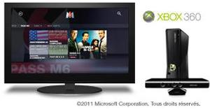 application m6 sur xbox 360 encore plus de vod sur console. Black Bedroom Furniture Sets. Home Design Ideas