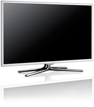 CES 12 > LED Samsung ES6710 : trois téléviseurs 3D Ready blancs