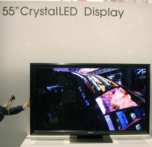 CES 12 > Téléviseur Sony Crystal LED : 55'' et Local Dimming Ultime