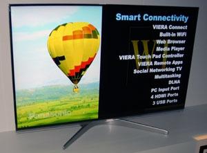 CES 12 > LED Panasonic WT50 : trois tailles au programme