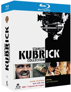 stanley kubrick 12 dvd ou 5 blu ray. Black Bedroom Furniture Sets. Home Design Ideas